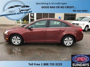 2012 Chevrolet Cruze CRUISE, AC......FINANCE NOW!!!!!