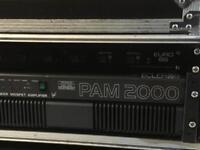 Ecler Pam 2000 professional amplifier
