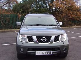 nissan pathfinder adventure 2007 low mileage