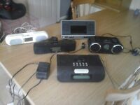 bulk of 28 docking stations with built in radios