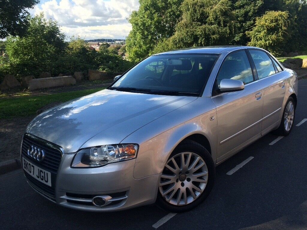 2007 facelift audi a4 2 0 tdi se 170 bhp 6 speed 2 owners s