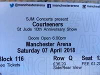 Courteeners st Jude tickets