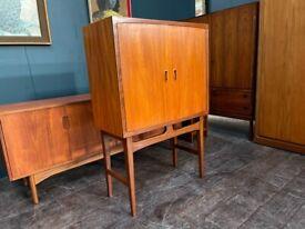 Drinks Cabinet in Teak by Torbjorn Afdal. Retro Vintage Mid Century Scandinavian 1960s