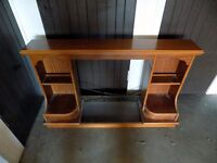 Wooden Mahogany Electric Fire Surround