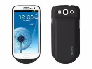 Samsung Galaxy S3 Slim Griffin Hardshell Case + 2000 mAh Rechargable Battery Power Pack