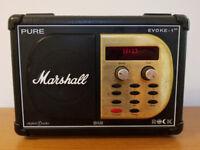 Limited Edition Pure Evoke 1XT DAB Radio - Marshall Edition