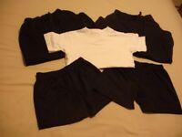 Girls Boys School PE Kit Bundle Age 4 - 5 Top Joggers Shorts Bundle