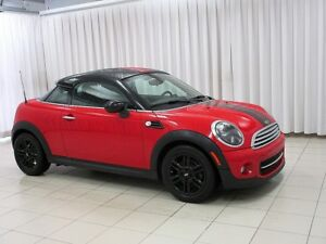 2014 MINI Cooper COUPE 6 SPEED w/ PREMIUM PACKAGE, HEATED SEATS,