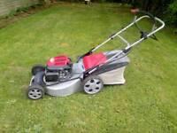 Honda mountfield petrol lawnmower self propelled