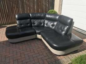 DFS Leather corner sofa excellent condition