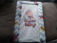 Baby boy changing mat
