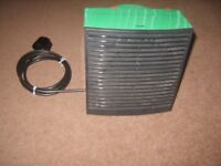 Green house Fan heater / cooler two heat settings good for greenhouse shed Workshop