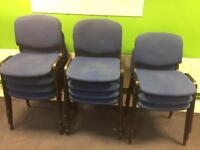 Stacker chairs.