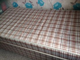 Single bed,