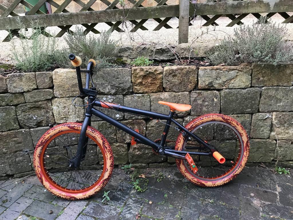 Verde vex BMX matte black and orange (Stunt bike BMX) | in Banbury ...