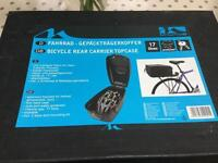 Bicycle rear carrier topcase