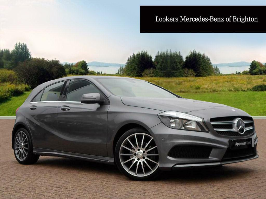 mercedes benz a class a180 cdi blueefficiency amg sport grey 2014 09 30 in portslade east. Black Bedroom Furniture Sets. Home Design Ideas