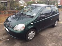Toyota Yaris 1.0 VVT-i 16v GLS 3dr, Full Toyota Service History, 1 Previous Owner, Good Condition