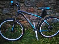 DH PEAK 29ER FRONT SUSPENSION MOUNTAIN BIKE, HYDRAULIC DISC BRAKES, £275