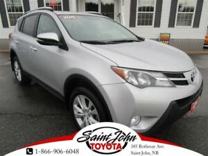 2015 Toyota RAV4 Limited with Nav $209.54 BIWEEKLY!!!
