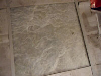 NATURAL STONE TILES 8.1 sq meters + 1 extra tile