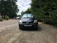 Renault Clio expression 16V for sale, MOT, low mileage, service history, drives perfect.