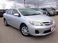 2011 Toyota Corolla **RECENT TRADE**LOCAL ONTARIO VEHICLE**CLEAN