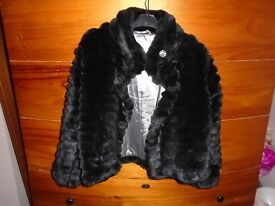 George black grils swing coat great condition size 8 to 9