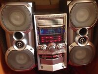 JVC 5 disc multi stereo