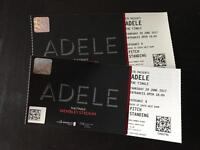 Adele - 29th June, standing x 2
