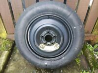 """Volvo or ford 16"""" space saver spare wheel"""