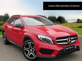 Mercedes-Benz GLA Class GLA 220 D 4MATIC AMG LINE PREMIUM (red) 2016-09-24
