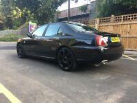 MG ZT 2,0 BMW ENGINE, AUTO, BLACK, LOW MILEAGE.............