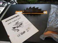 NEW Tooltec 600W Table Saw. Never been used. No box