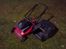 Mountfield Petrol Push Lawn Mower, in good working order, no longer needed