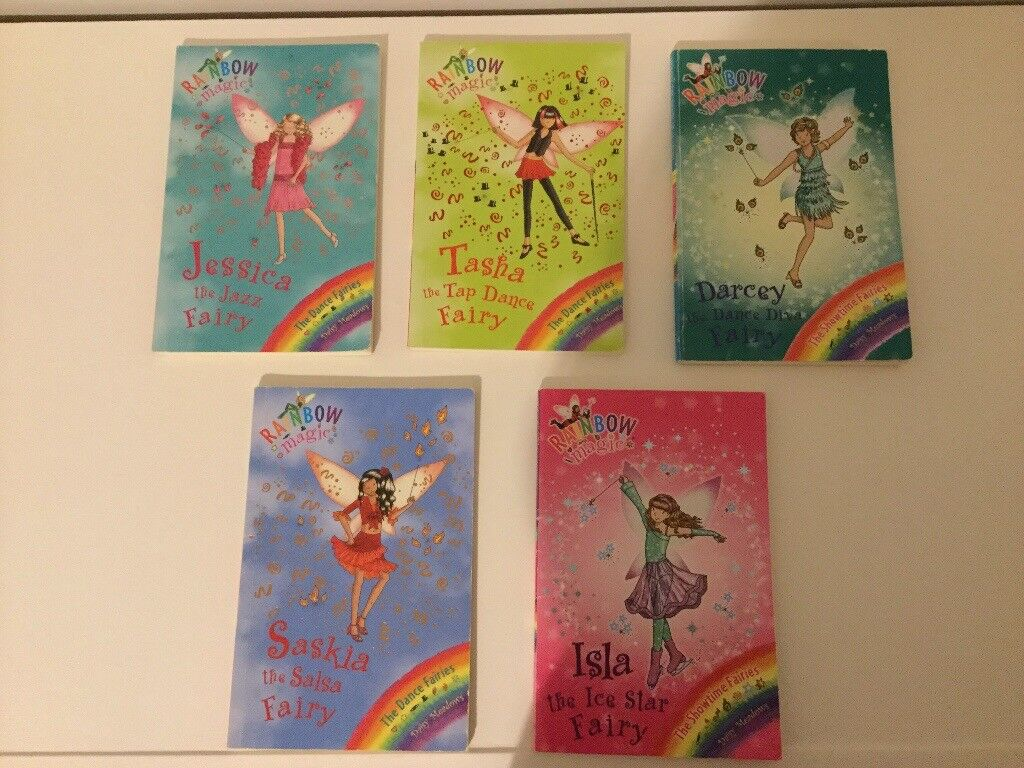 5x Rainbow Magic, Dance Fairy's, in excellent condition!