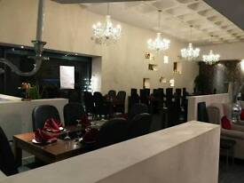 Fully set up restaurant to rent for day time cafe