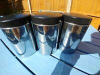 Brabantia Tea, Coffee and Sugar Canisters