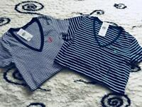 %SALE*LAST ONES*NEW,PROOF SERIO NO ladies Ralph Polo Lauren t-shirts