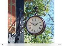 Marylebone station double sided clock