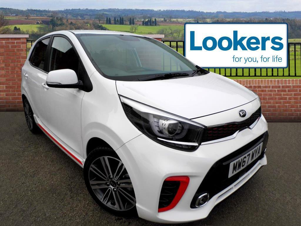 kia picanto gt line white 2017 12 13 in stockport manchester gumtree. Black Bedroom Furniture Sets. Home Design Ideas