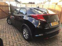 taxi leeds plate Honda Civic 2.2 i DTEC ES Hatchback £5650