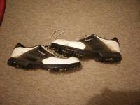 Nike golf shoes size 10.5 UK
