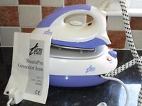 Steampro generator iron, never used , paid £80, selling for £35
