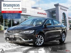 2015 Chrysler 200 C | TRADE-IN | CLEAN CARPROOF | 8.4 IN TOUCHSC