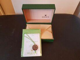 ROLEX GREENWAVE BOX
