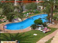 COSTA BLANCA, Spain. 2 bedroom apartment, sea & pool views, sleeps 4, easy walk to beach/sea (SM040)