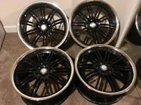 "ZITO BEL AIR 18"" ALLOY WHEELS"