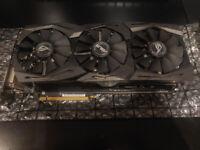 GPU ASUS ROG STRIX AMD Radeon RX Vega 64 8Gb VRAM HBM2 with box