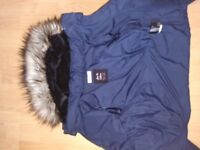 H&M Navy jacket age 9-10 years girl